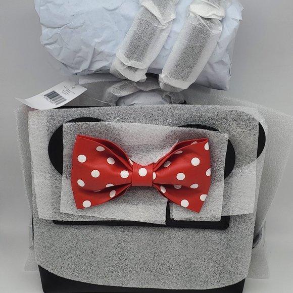 Kate Spade Minnie Mouse Small Neema Backpack Black